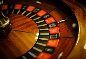 Wheel of fortune. Shot wide open using 50mm/f1.