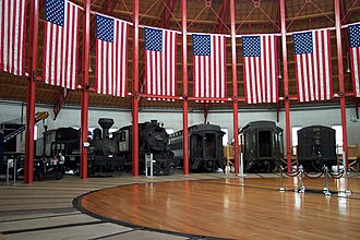 B&O Railroad Museum - Image: Roundhouse Trains
