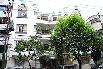 Condesa - Art Deco influence in the neighborhood.