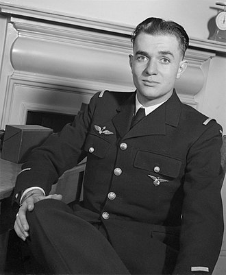"Pierre Clostermann - Clostermann whilst serving with No. 341 Squadron RAF  ""Alsace"""
