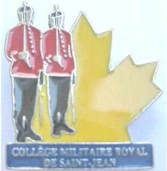 Royal Military College Saint-Jean - RMC Saint-Jean enamel pin