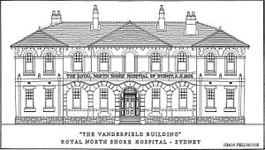 "Royal North Shore Hospital - ""Vanderfield Building"" - Original design"
