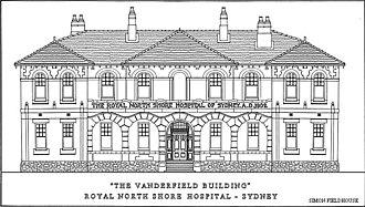 "Royal North Shore Hospital - ""Vanderfield Building"" - Original design"