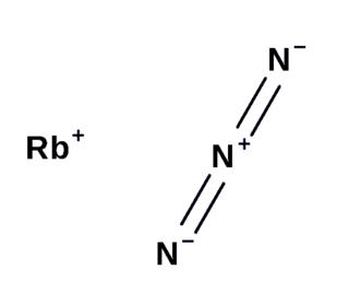 Rubidium azide chemical compound
