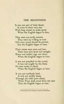 picture about If by Rudyard Kipling Printable named The Beginnings - Wikipedia