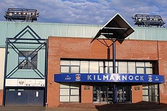 Rugby Park - Image: Rugby Park Stadium, Kilmarnock, Scotland