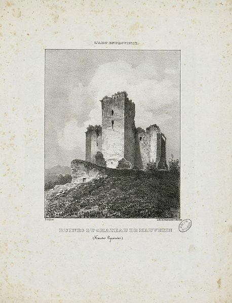 File:Ruines du Château de Mauvezin (Hautes-Pyrénées) - Fonds Ancely - B315556101 A GELIBERT 4 002.jpg