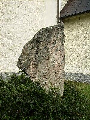 Södermanland Runic Inscription 351 - Sö 351 in Överjärna.