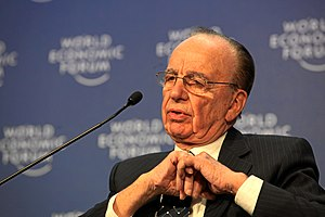 English: Rupert Murdoch, Chairman and Chief Ex...