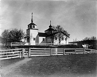 "Kodiak, Alaska - ""Russian Church"" photo by John Nathan Cobb, June 1908"