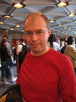 Konstantin Bronzit - Konstantin Bronzit at the Ottawa International Animation Festival (Sept. 24, 2006), after a retrospective of his work