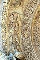 Ruvo di puglia, duomo, facciata, portali, centrale, angeli e santi 01.jpg