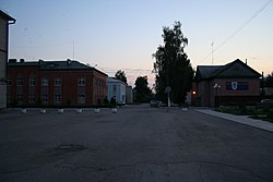 Lenina Square in Rybnoye