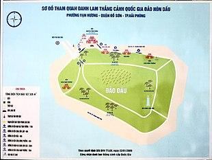 Sơ đồ đảo Hòn Dáu (Hải Phòng, Việt Nam).jpg