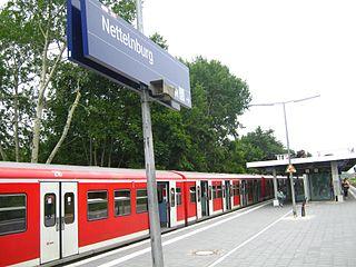 Nettelnburg station railway station in Hamburg, Germany