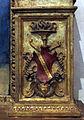 S.m. maddalena de' pazzi, domenico puligo, madonna col bambino e santi (1525-26) stemma roffia.JPG