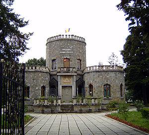 Castelul iulia hasdeu wikipedia for Small houses that look like castles