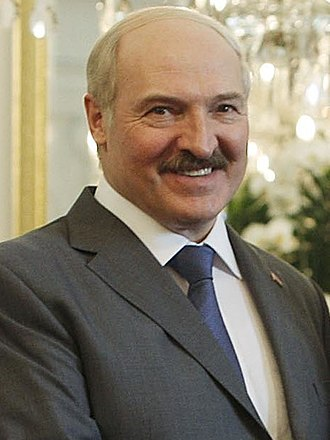 President of Belarus - Image: SBY dan Alexander Lukashenko 19 03 2013 (cropped)