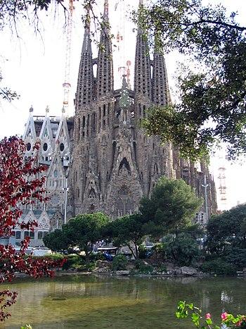 Español: Fachada del Nacimiento, Sagrada Famil...