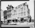 SOUTH FRONT - Keep Building, 801-805 Market Space, Washington, District of Columbia, DC HABS DC,WASH,481-1.tif