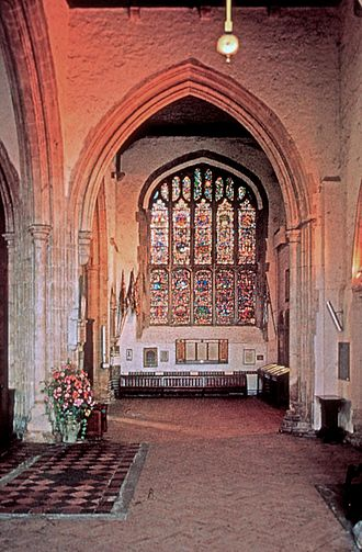 Rye, East Sussex - Interior of St Mary's