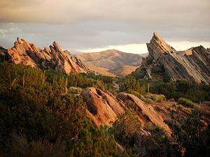 Pacific Crest Trail - Vasquez Rocks
