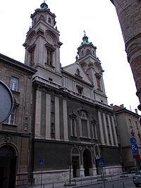 Sacred Heart Basilica, Zagreb 1.JPG