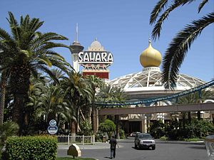 Martin Stern Jr. - The Sahara Hotel and Casino, Las Vegas