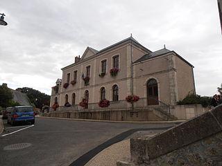 Saint-Antoine-du-Rocher,  Centre-Val de Loire, France