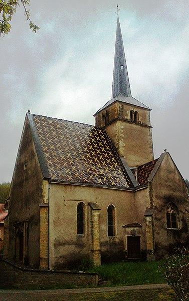 Vue de la chapelle Notre-Dame, dans le hameau de Vers.