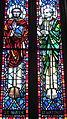 Saint Anthony of Padua Catholic Church (Dayton, Ohio) - stained glass, Sts. Mark & Matthias.JPG