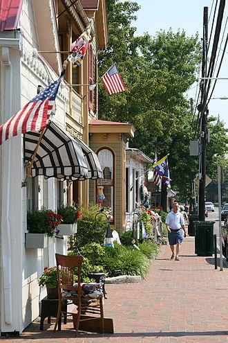 St. Michaels Historic District - Image: Saint Michaels Historic District