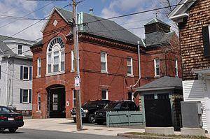 North Street Fire Station - Image: Salem MA North Street Fire Station
