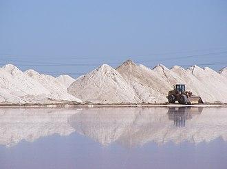Dry Creek, South Australia - Harvesting Dry Creek's salt pans