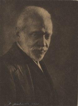 Salvatore Andreola, Il pittore Gaetano Bellei, 1921, Museo Civico di Modena.tif