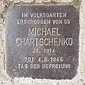 Salzburg - Parsch - Volksgarten - Stolperstein Michael Chartschenko.jpg