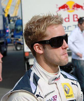 Sam Bird - Bird while at ISR Racing in 2012