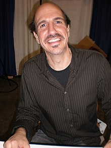 Sam Lloyd at WonderCon 2009.JPG