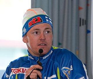 Sami Jauhojärvi Finnish cross-country skier