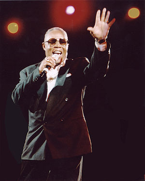 Sam Moore - Moore performing in concert.