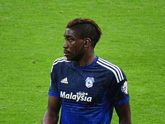 Sammy Ameobi - Ameobi playing for Cardiff City in 2015