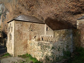 Sancho II of Pamplona - San Juan de la Peña, King Sancho's final resting place.