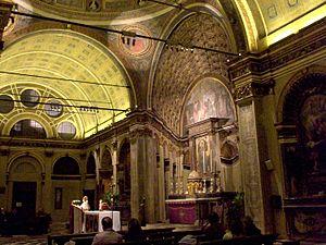Santa Maria presso San Satiro - Image: San Satiro Interiors 3 crop