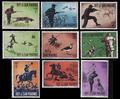 San Marino stamps hunting contemporary motives 10.png