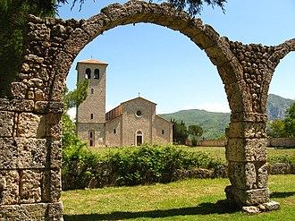 San Vincenzo al Volturno - The monastery of San Vincenzo al Volturno