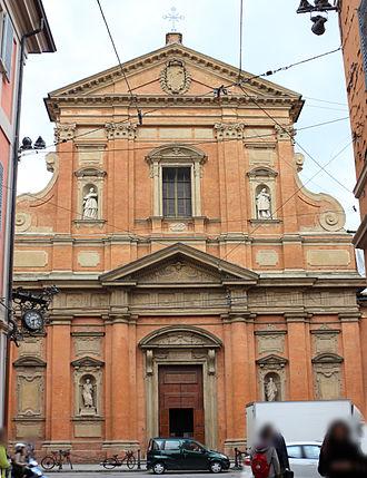 San Paolo Maggiore, Bologna - Facade of San Paolo