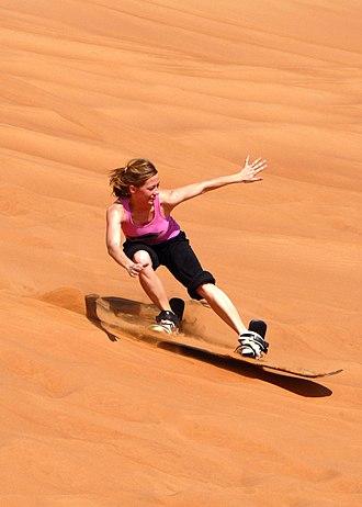 Sandboarding - Sandboarding in Dubai