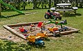 Sandbox with toys on Röe gård 1.jpg