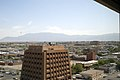 Sandia Mountains viewed NE from Doubletree.jpg