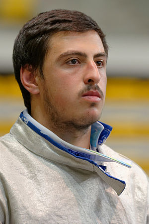 Sandro Bazadze - Image: Sandro Bazadze 2014 European Championships SMS EQ t 103301